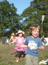 kids run free at festival #wildtime
