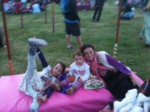 3 at camp bestival