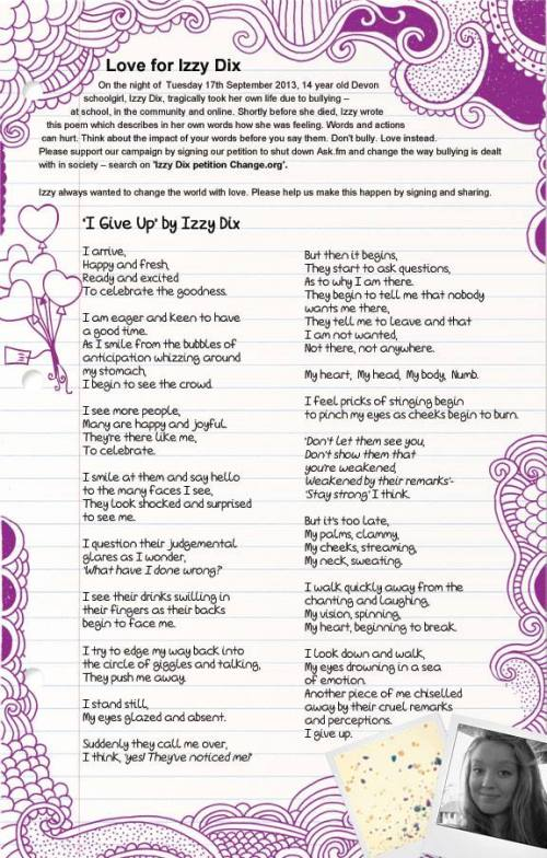 I give up by Izzy Dix