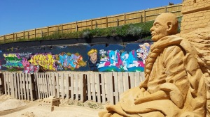 sand sculpture brighton art