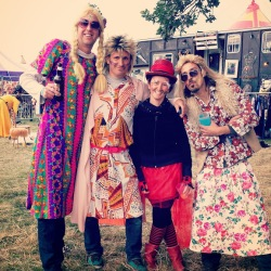 shambala festival men in dresses