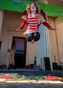 Brighton Fringe performer